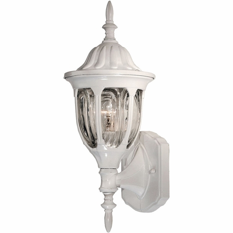 07068-WHT Savoy House Lighting Outdoor Exterior Collections Wall Mount Lantern