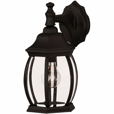 07069-BLK Savoy House Mission Exterior Collections Wall Mount Lantern in Black