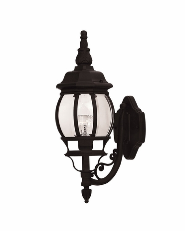07074-BLK Savoy House Lighting Exterior Outdoor Wall Sconce Light