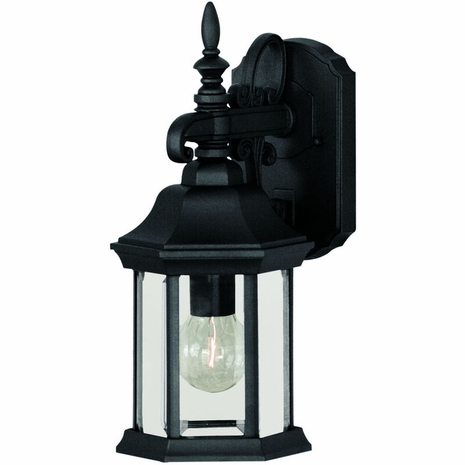 07079-BLK Savoy House Lighting Exterior Outdoor Wall Sconce Light