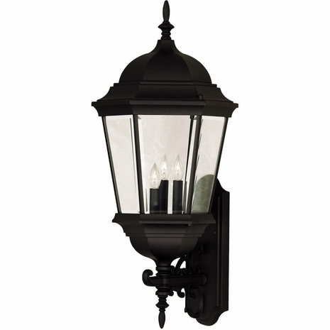 07082-BLK Savoy House Lighting Outdoor Exterior Collections Wall Mount Lantern