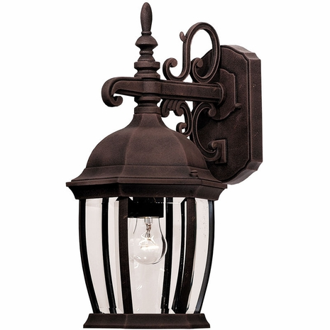 07084-AG Savoy House Lighting Outdoor Exterior Collections Wall Mount Lantern