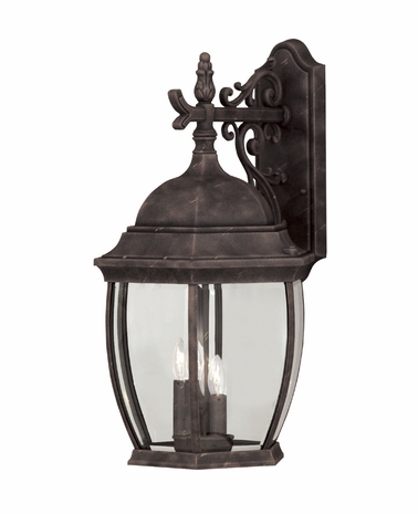 07087-AG Savoy House Lighting Exterior Outdoor Wall Sconce Light