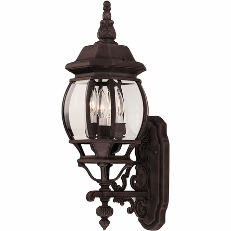 07093-RT Savoy House Lighting Outdoor Exterior Collections Wall Mount Lantern