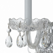1031-CH-CL-MWP Crystorama Traditional Crystal 1 Light Clear Crystal Chrome Sconce