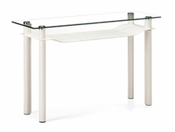 107711 Zuo Modern Tier Console Table in White Finish