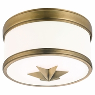 1109 Hudson Valley Seneca 1 Light Flush Mount