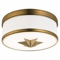 1112 Hudson Valley Seneca 2 Light Flush Mount