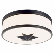 1115 Hudson Valley Seneca 3 Light Flush Mount