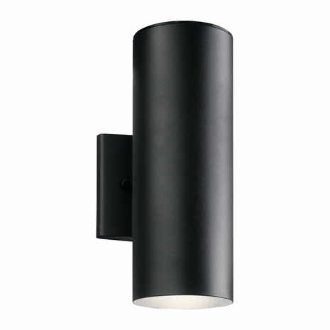 11251BKT Kichler Outdoor Wall 1Lt LED Small