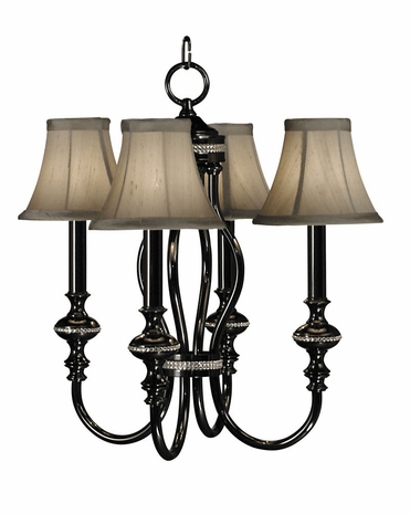 1294 Framburg Lighting Chanson 4 Light Mini Chandelier