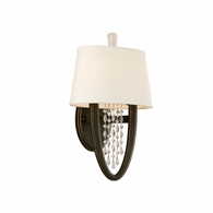 130-12 Corbett Viceroy 2Lt Wall Sconce Oval with Royal Bronze Finish