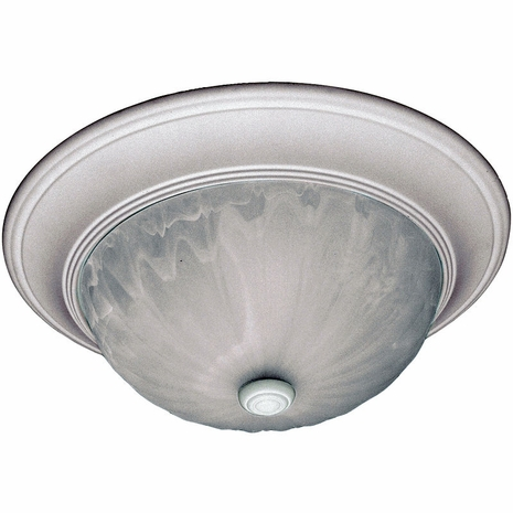 13264-80 Savoy House Mission Flush Mount in Matte White
