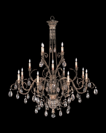 136740-2ST Fine Art Lamps A Midsummer Nights Dream 69 inch 16 Light Chandelier