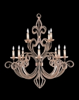 137140-2ST Fine Art Lamps A Midsummer Nights Dream 46 inch 12 Light Chandelier