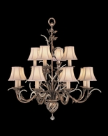 138540ST Fine Art Lamps A Midsummer Nights Dream 38 inch 12 Light Chandelier