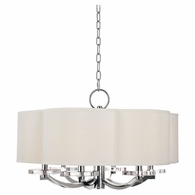 1426 Hudson Valley Garrison 6 Light Chandelier