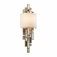 150-11 Corbett Dolcetti 1Lt Wall Sconce with Dolcetti Silver Finish