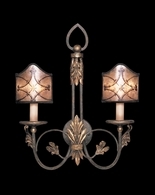153750ST Fine Art Lamps Villa 1919 24 inch 2 Light Sconce