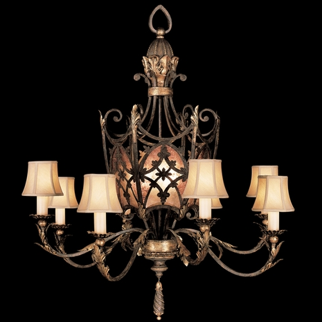 153940ST Fine Art Lamps Villa 1919 Chandelier
