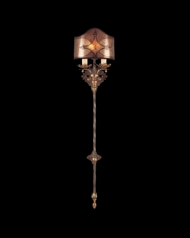 155950ST Fine Art Lamps Villa 1919 41 inch 1 Light Sconce