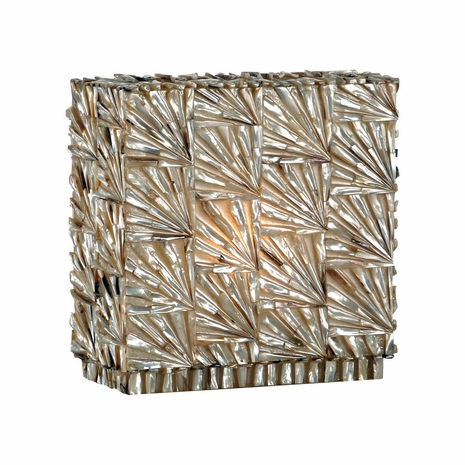 15693 Wildwood Lamps Stacked Shell Lamp