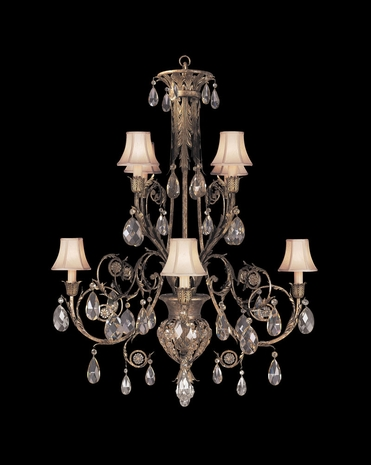 162740ST Fine Art Lamps A Midsummer Nights Dream 51 inch 8 Light Chandelier