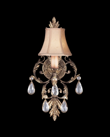 163150ST Fine Art Lamps A Midsummer Nights Dream 20 inch 1 Light Sconce