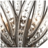 16361/2 ELK Lighting Naples 2-Light Sconce in Dark Graphite with Clear Crystal