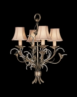 163740ST Fine Art Lamps A Midsummer Nights Dream 27 inch 4 Light Chandelier
