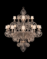 163940ST Fine Art Lamps A Midsummer Nights Dream 74 inch 15 Light Chandelier