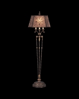 166120ST Fine Art Lamps Villa 1919 69 inch 3 Way 50-100-150W 1 Lt Floor Lamp