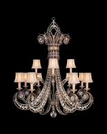171740ST Fine Art Lamps A Midsummer Nights Dream 56 inch 12 Light Chandelier