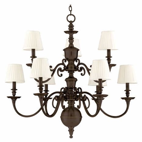 1749 Hudson Valley Classic Heritage (9) Light Charleston Chandelier