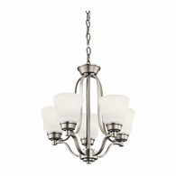 1788NI Kichler Transitional Mini Chandelier 5Lt