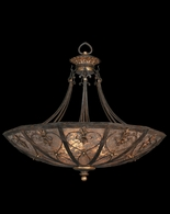 179942ST Fine Art Lamps Villa 1919 37 inch 3 Light Pendant