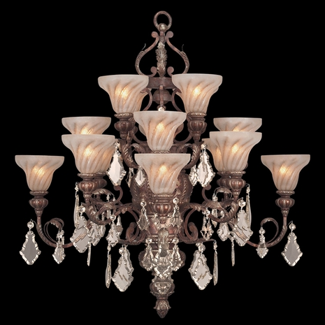 181940ST Fine Art Lamps Stile Bellagio Chandelier