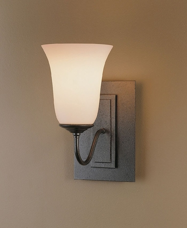20-3221 Hubbardton Forge Wrought Iron Wall Sconce (CLEARANCE ITEM)