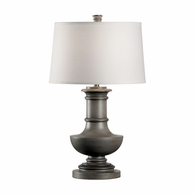 21726 Wildwood Lamps Bob Timberlake Composite Worn Gray Carolina Lamp-Worn Gray