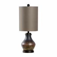 21741 Wildwood Lamps Bob Timberlake Glass Textured Bronze Stoneridge Lamp