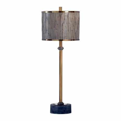 21745 Wildwood Lamps Bob Timberlake Iron Antique Brass Currituck Lamp