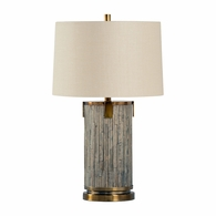 21746 Wildwood Lamps Bob Timberlake Wood Driftwood White's Creek Lamp