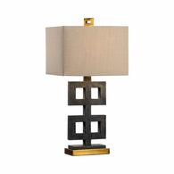 21758 Wildwood Lamps Bob Timberlake Composite Concrete Ross Lamp - Concrete
