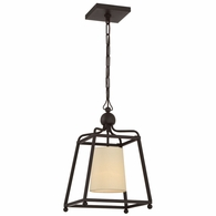 2240-DB Crystorama Libby Langdon for Crystorama Sylvan 1 Light Dark Bronze Pendant