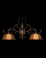 236840ST Fine Art Lamps Villa 1919 24 inch 2 Light Chandelier