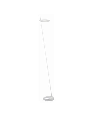 2415.03 Sonneman Ringlo™ Architectural LED Torchiere with Satin White Finish