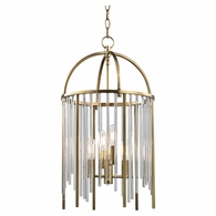 2512 Hudson Valley Lewis 4 Light Pendant