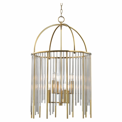 2520 Hudson Valley Lewis 6 Light Pendant