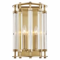 2802 Hudson Valley Haddon 2 Light Wall Sconce