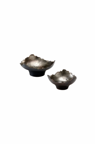294375 Wildwood Lamps Shaded Triangular Bowls  (Set of 2)